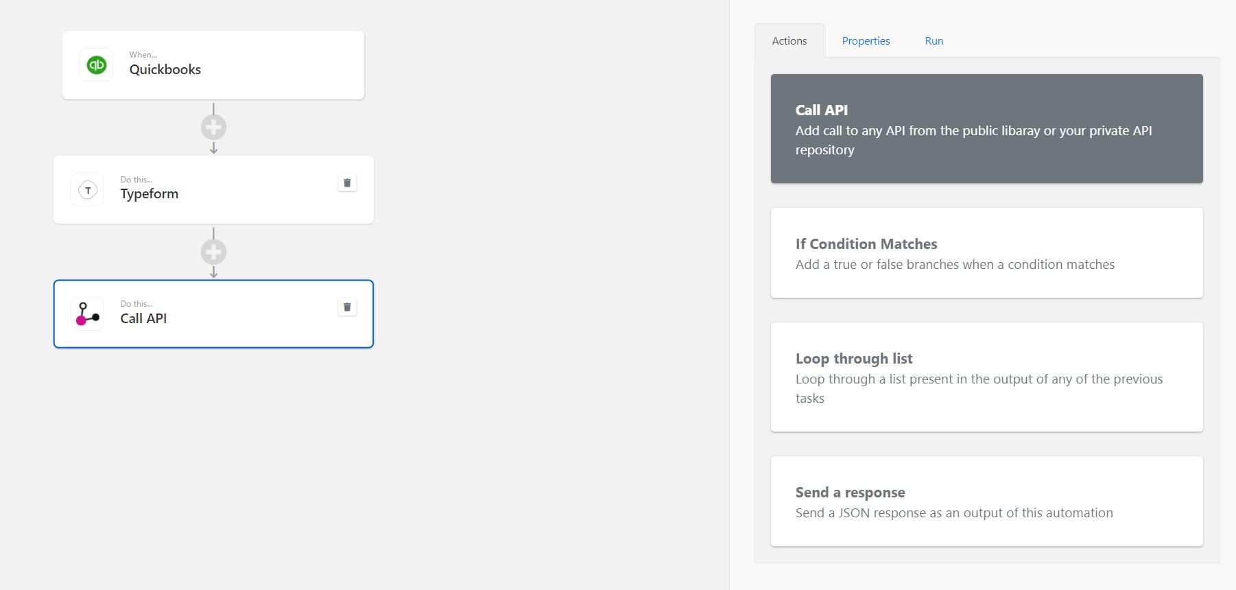 Image: Call API