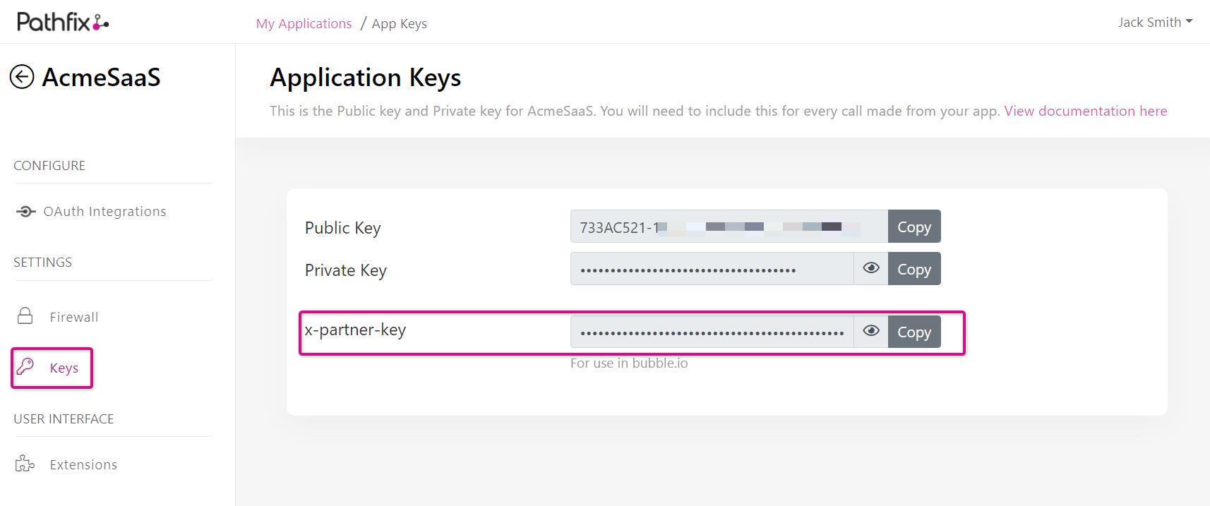 Image: x-partner-key