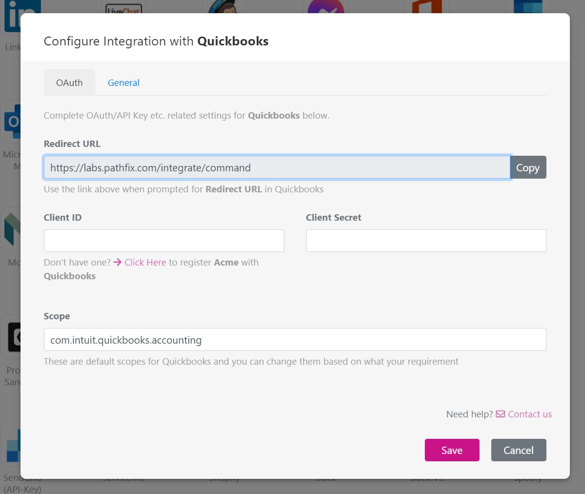 Image: Configure