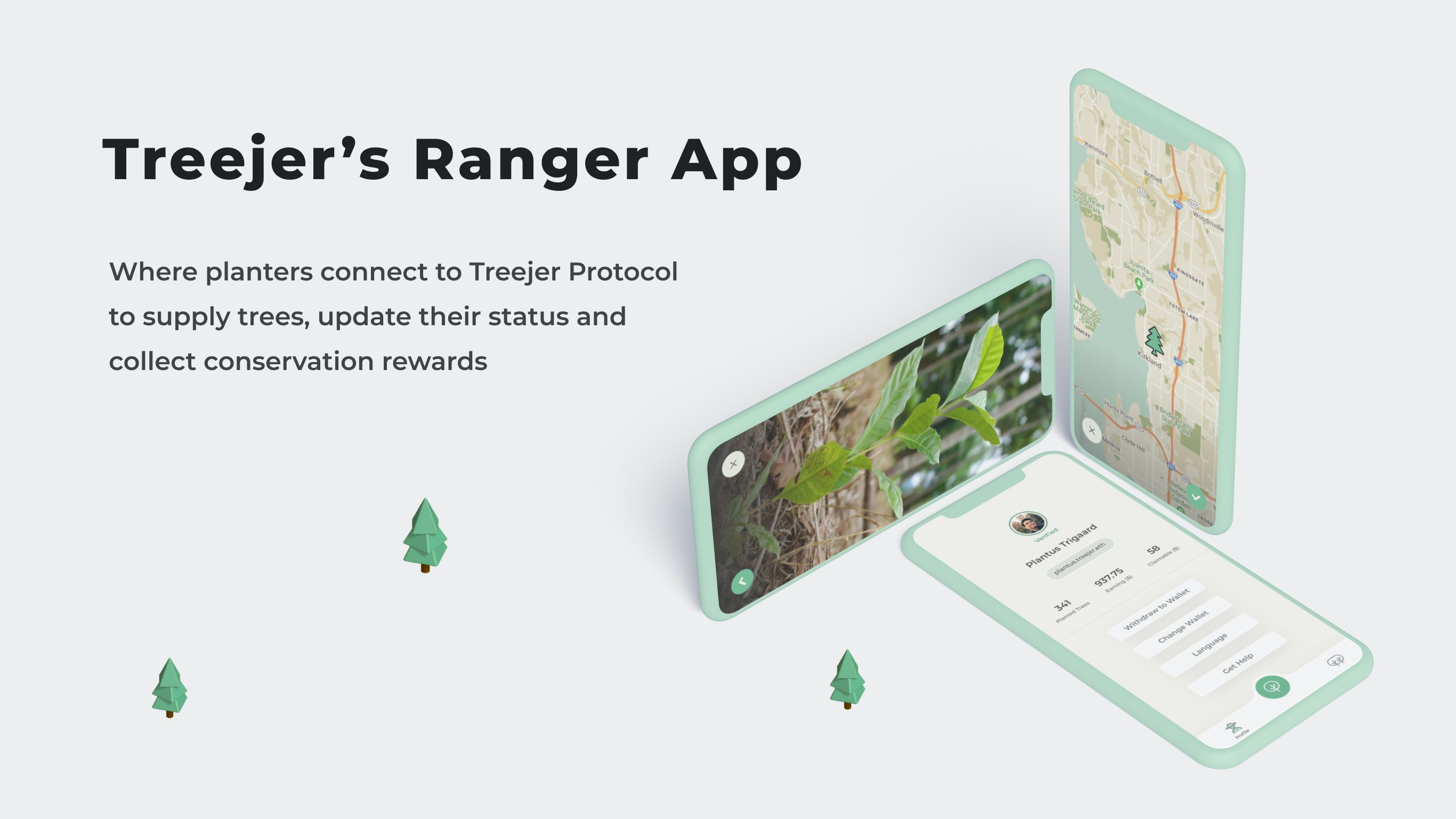 Treejer's Ranger App
